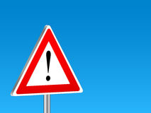 Attention sign background Royalty Free Stock Photos
