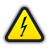 Attention sign. Vector illustration. Stock Photos