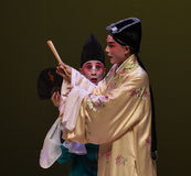 "Attention to the eyes-Kunqu Opera ""the West Chamber"" Royalty Free Stock Photo"
