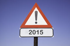 Attention 2015 Stock Photos