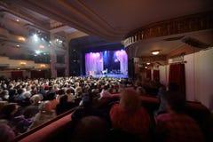 Attentive audience at Ball Crystal Turandot Stock Photos