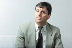 Attentive businessman  Royalty Free Stock Photo