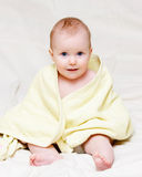 Attentive infant Royalty Free Stock Photo