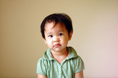 Attentive kid Royalty Free Stock Photo