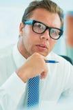 Attentive listening Stock Photos