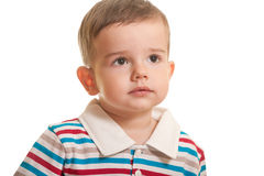 Attentive toddler Royalty Free Stock Images