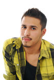 Attentive young man Stock Photos