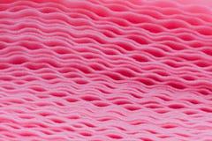 Attenuazione rosa della schiuma Fotografie Stock Libere da Diritti