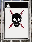 Attenzione! Fotografie Stock Libere da Diritti