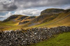 Free Attermire Scar Above Settle In The Dales Stock Photo - 126797980