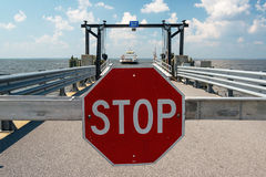 Atterraggio del traghetto Immagine Stock Libera da Diritti