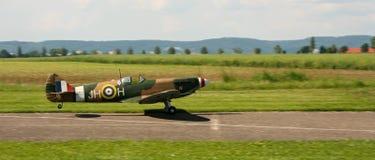 Atterraggio delle spitfire Fotografia Stock Libera da Diritti