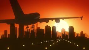 Atterraggio di alba dell'orizzonte di Filadelfia Pensilvania U.S.A. America Fotografia Stock