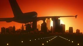 Atterraggio di alba dell'orizzonte di Minneapolis Minnesota U.S.A. America Fotografia Stock