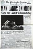 Atterraggio di luna Fotografia Stock
