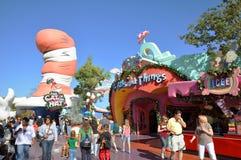 Atterraggio di Seuss a Orlando universale Fotografia Stock