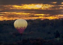 Atterraggio di tramonto Fotografie Stock Libere da Diritti
