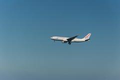 Atterraggio di voli di Air Europa Fotografia Stock