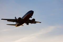 Atterrissage à Vegas Images libres de droits