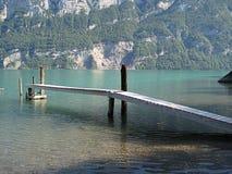 Atterrissage-étape en Suisse Images libres de droits