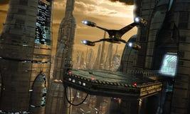 Atterrissage Image libre de droits