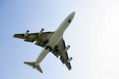 Atterrissage d'aéronefs Photos libres de droits