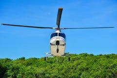 Atterrissage d'hélicoptère Photographie stock