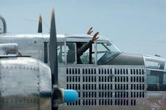 Atterrissage de bombardier Photographie stock