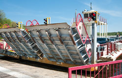 Atterrissage de ferry-boat image libre de droits
