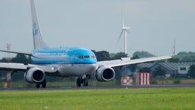 Atterrissage de KLM Boeing 737 clips vidéos