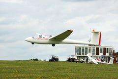 Atterrissage de planeur Photo libre de droits