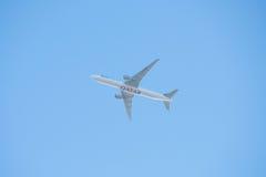 Atterrissage de Qatar Airways dans l'Australie de Perth Photographie stock
