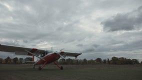 Atterrissage des avions banque de vidéos