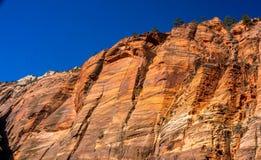 Atterrissage du ` s d'ange dans Zion NP photos stock