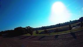 Atterrissage forcé de bourdon - accident de quadrocopter, paysage, l'Europe clips vidéos