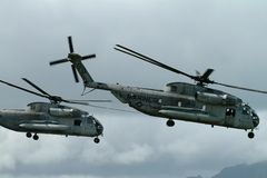 Atterrissage marin Photos libres de droits
