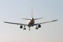 Atterrissage plat par derrière 3 Photos libres de droits