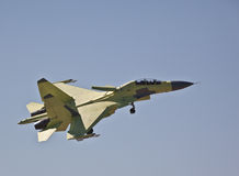 Atterrissage Su-30MKI Images stock