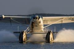 Atterrissage sur l'eau Image libre de droits