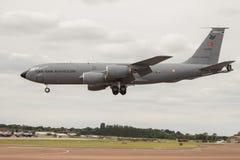 Atterrissage turc de DC-10 de l'Armée de l'Air Photo stock
