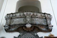 ATTERSEE, SALZKAMMERGUT/AUSTRIA - 18-ОЕ СЕНТЯБРЯ: Балкон в Стоковое Изображение RF