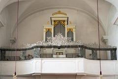 ATTERSEE, SALZKAMMERGUT/AUSTRIA - 18-ОЕ СЕНТЯБРЯ: Орган в Ca Стоковые Изображения