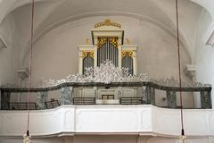 ATTERSEE, SALZKAMMERGUT/AUSTRIA - SEPTEMBER 18 : Organ in the Ca