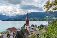 ATTERSEE, SALZKAMMERGUT/AUSTRIA - SEPTEMBER 18 : View of the Eva