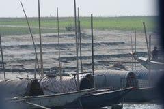 Attesa delle barche Immagini Stock Libere da Diritti