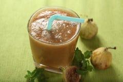 Atti-pazham Saft, Feigen-Fruchtsaft, Anjeer-Kasaft stockfoto