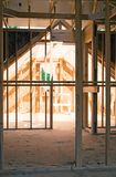 Attic Area/House Construction stock photo