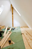 Attic conversion Stock Photo