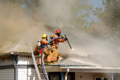 Attic Fire Stock Photos