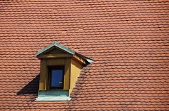 Attic in the old city of prague Royalty Free Stock Images